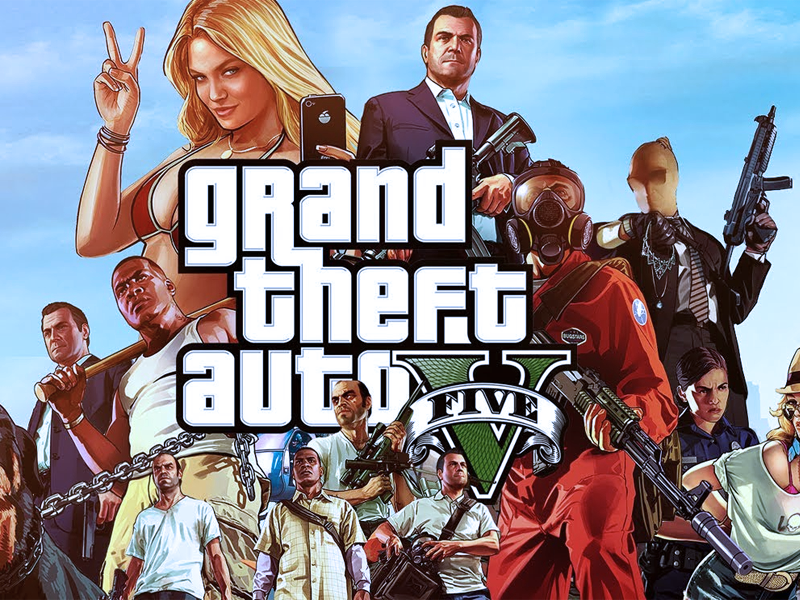 Grand Theft Auto V/GTA 5 [GARANTEE+ONLINE+CHANGE DATA]