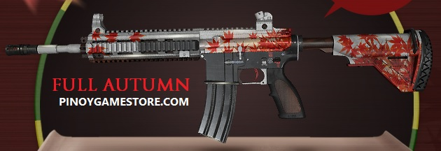 M416 Full Autumn Skin PUBG - Region Free - EXCLUSIVE