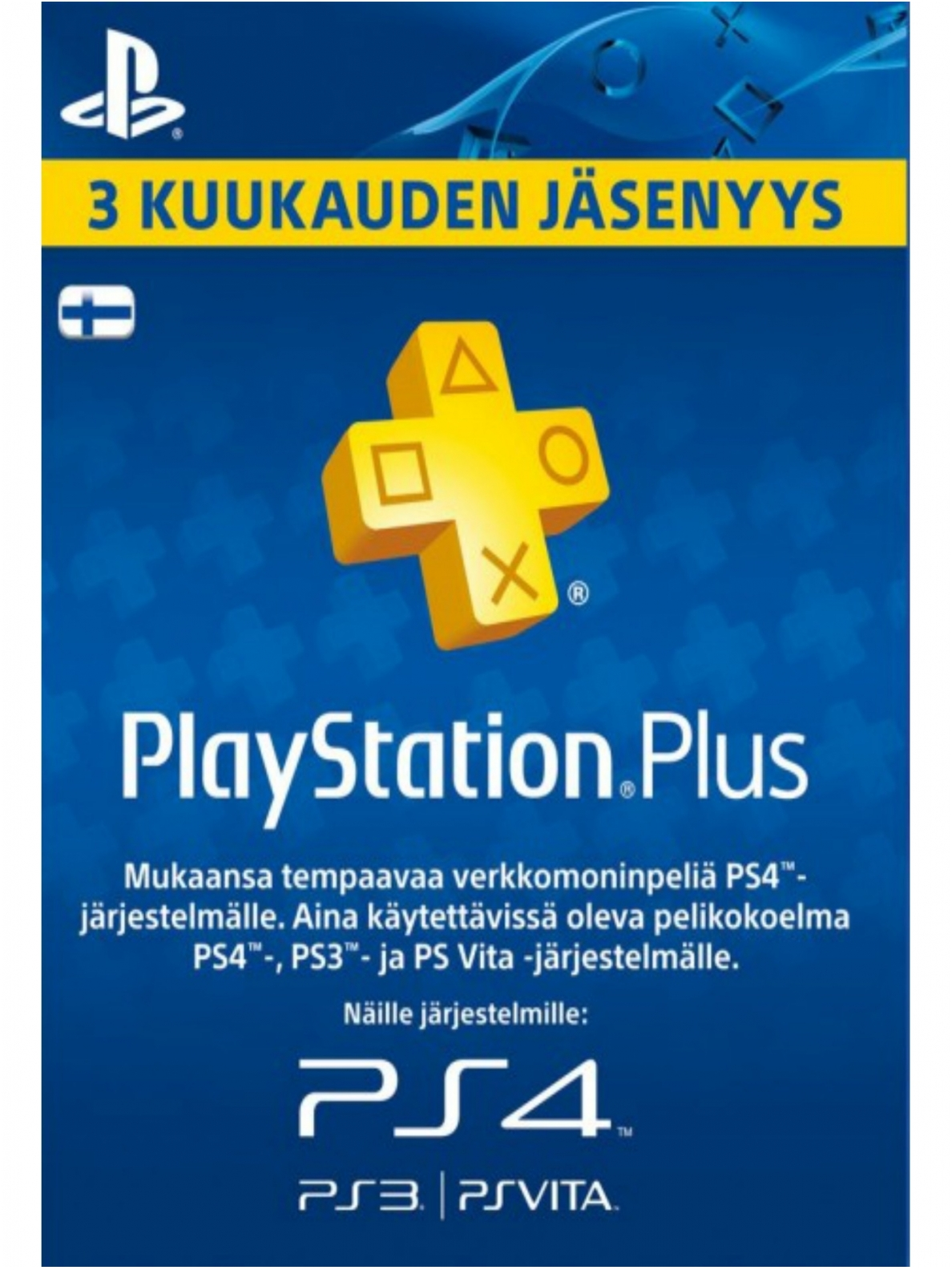 PLAYSTATION PLUS (PSN PLUS) 90 DAYS (FIN)