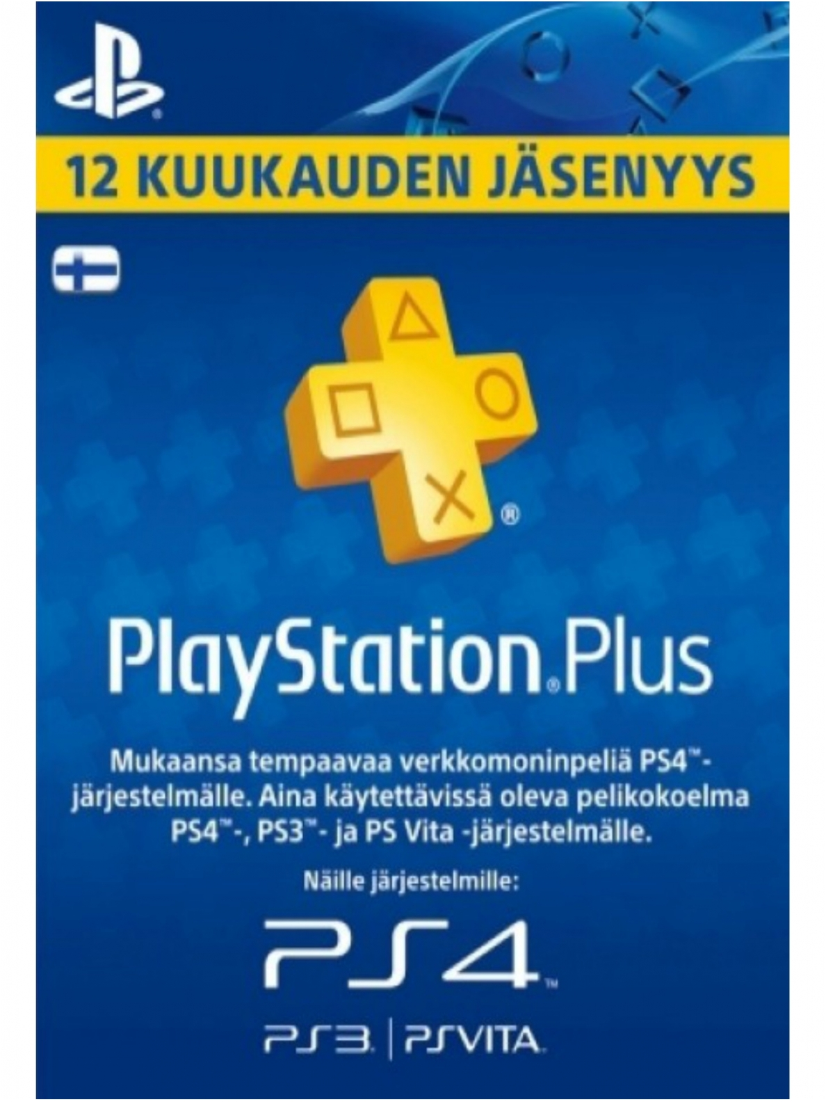 PLAYSTATION PLUS (PSN PLUS) 365 DAYS (FIN)