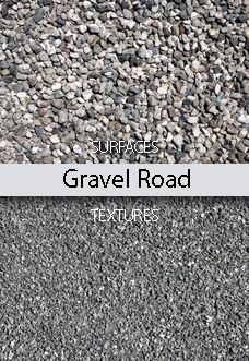 Gravel Road Surfaces Textures