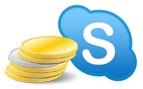Оплата SKYPE - от 1 до 500 USD +БОНУС