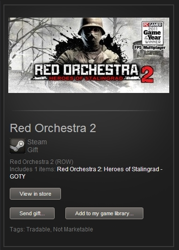 Red Orchestra 2 GOTY (Steam Gift, RegFree) + ПОДАРОК