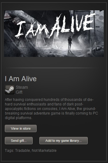 I Am Alive (Steam Gift, Region Free) + ПОДАРОК