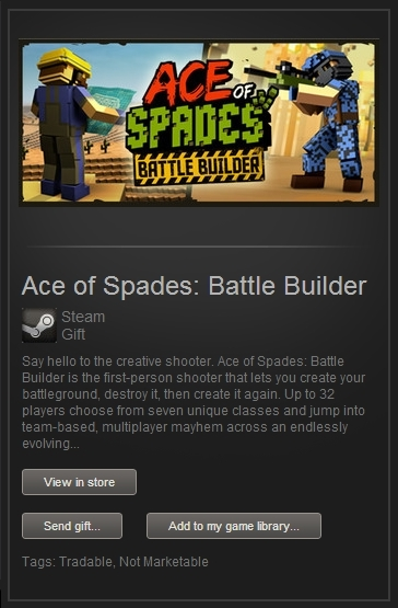 Ace of Spades Battle Builder (SteamGift, ROW) + ПОДАРОК