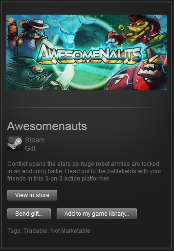 Awesomenauts (Steam Gift, Region Free) + ПОДАРОК