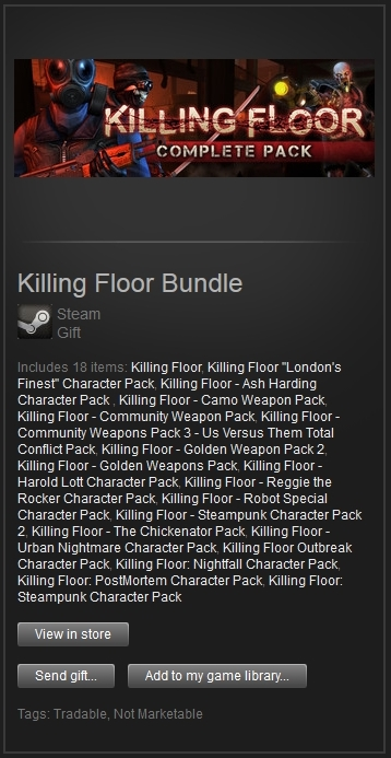 Killing Floor Bundle (Steam Gift, ROW) + ПОДАРОК