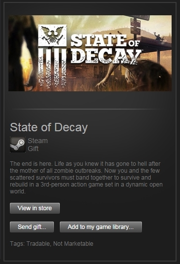 State of Decay (Steam Gift, Region Free) + ПОДАРОК