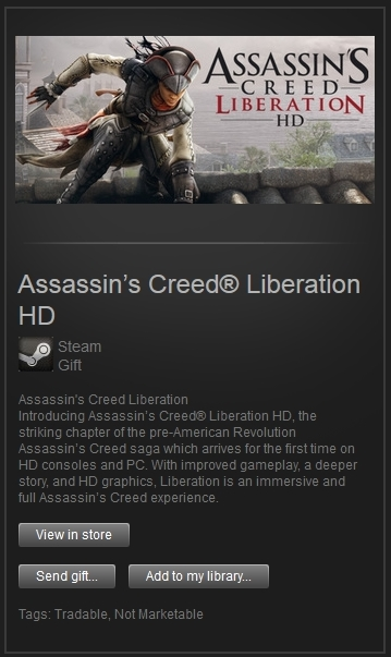 Assassins Creed Liberation HD (Steam, RegFree) + PRIZE