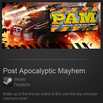 Post Apocalyptic Mayhem (Region Free) Steam Gift