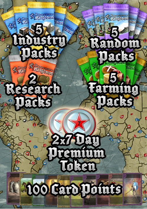 Stronghold Kingdoms - Global Conflict Gift Pack