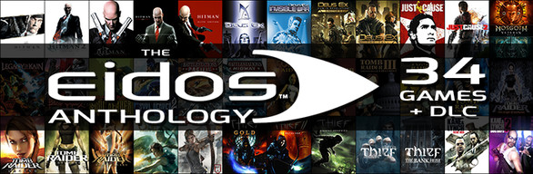 Eidos Anthology 34 Games + DLC (Steam Gift RU) PC