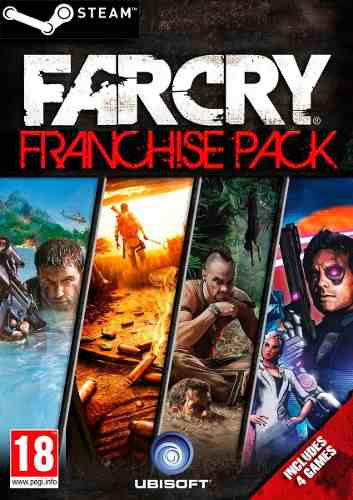 Far Cry Franchise Pack. Steam gift. Region free.