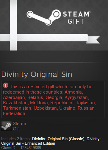 Divinity Original Sin Enhanced ed (Steam gift / RU/CIS)