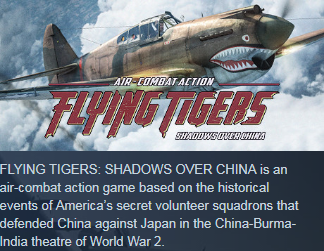 Flying Tigers: Shadows Over China (Steam KEY / ROW)
