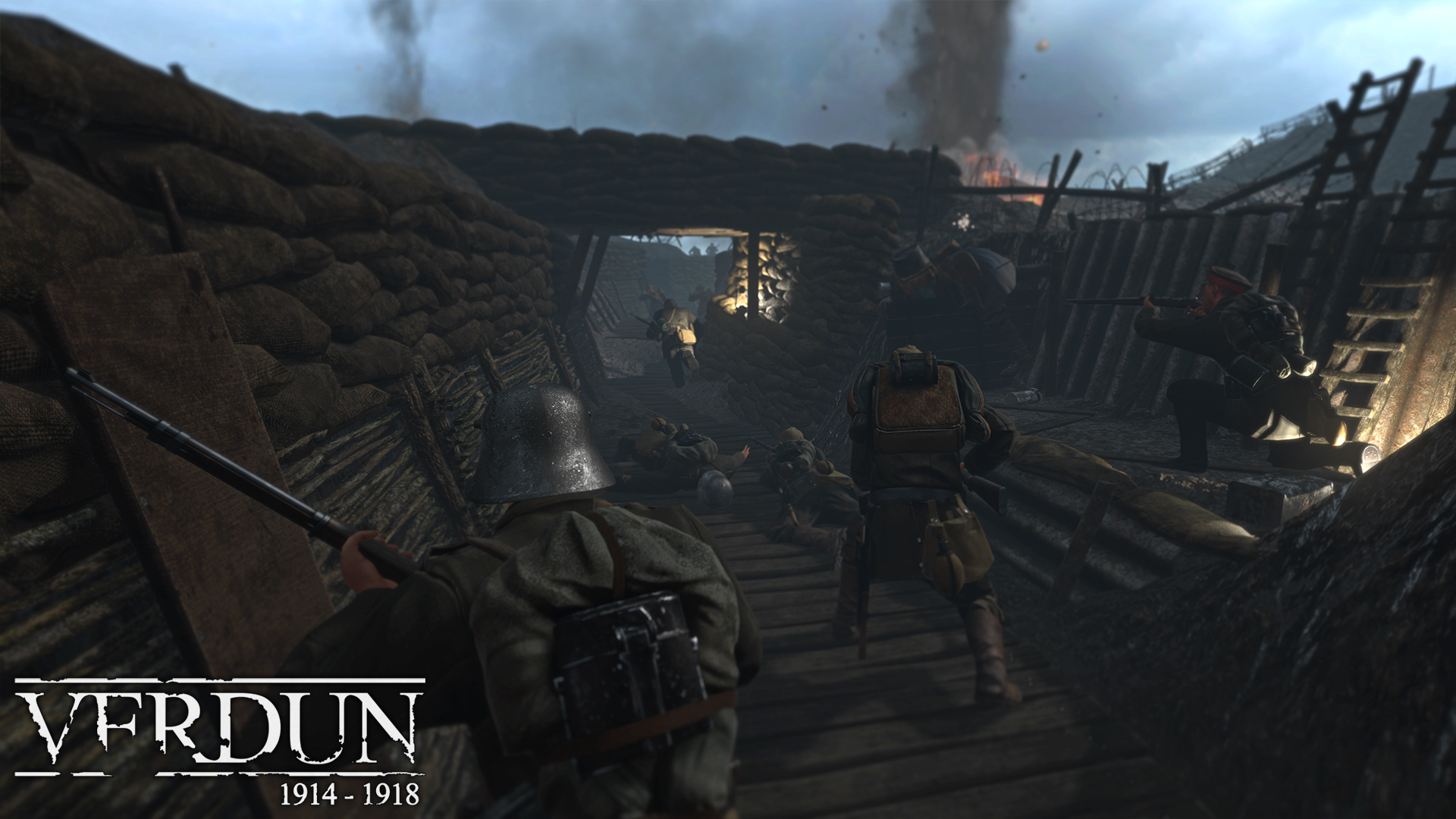 Verdun (Steam gift /  RU-CIS)