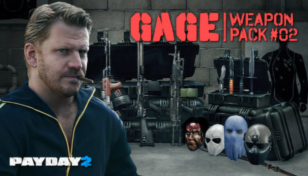 PAYDAY 2: Gage Weapon Pack #02 DLC (Steam gift / ROW)