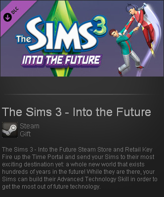 The Sims 3 - Into the Future (Steam Gift / Region Free)