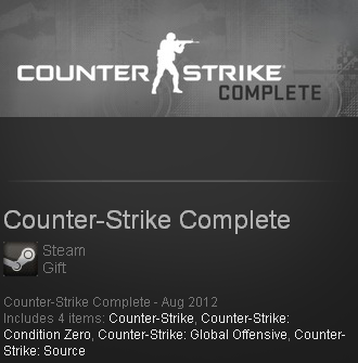 Counter-Strike Complete(Steam gift / ROW / Region free)