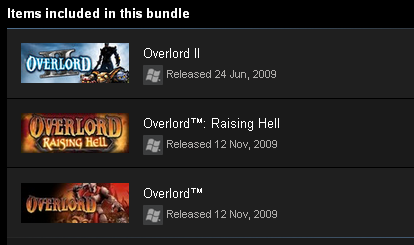 Overlord Complete Pack (Steam Gift / ROW / Region Free)
