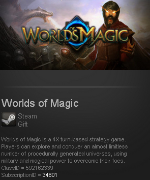 Worlds of Magic (Steam gift / ROW / Region Free)