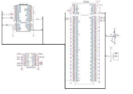 Схема переходника mini PCI-E в PCI-E x16