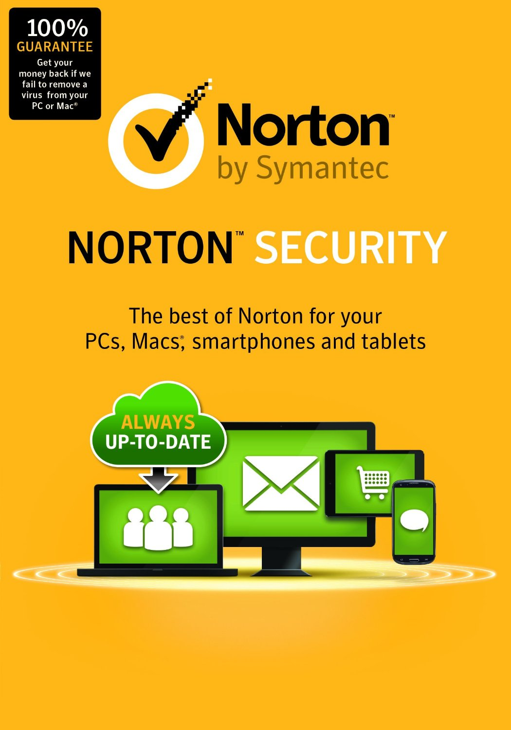 Norton Security 3 months 5 PC Unactivated