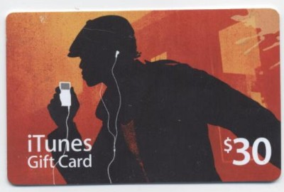 iTunes Gift Card - $30 USA