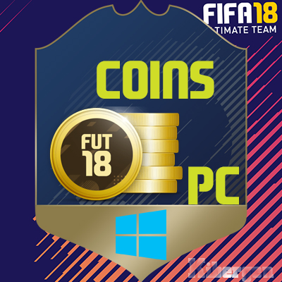 COINS OF FIFA 18 Ultimate Team PC Coins+ скидки 5%