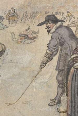 Костюм в картинах Хендрика Аверкампа