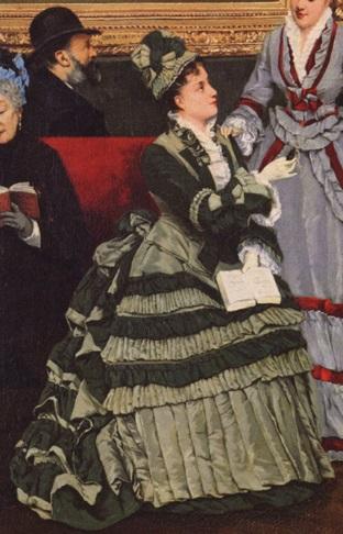 Одежда на картинах Кабелло-Лассаля Камиль-Леопольда