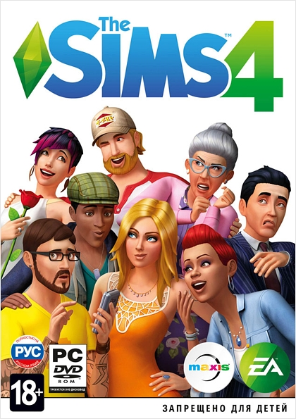 The Sims 4 (Origin) RU/CZ/PL
