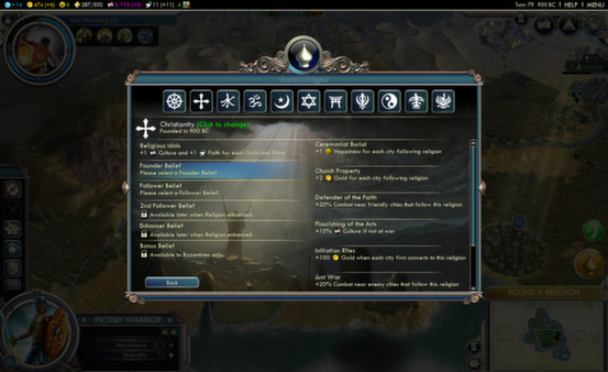 Sid Meier´s Civilization V - Gods and Kings (Steam, RU)