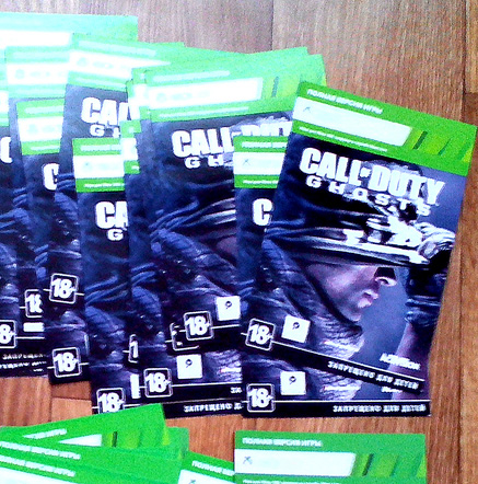 Игра CALL OF DUTY GHOSTS Xbox One/360 на Русском языке