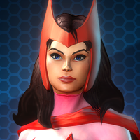 MARVEL HEROES 2015 - Герой АЛАЯ ВЕДЬМА / SCARLET WITCH
