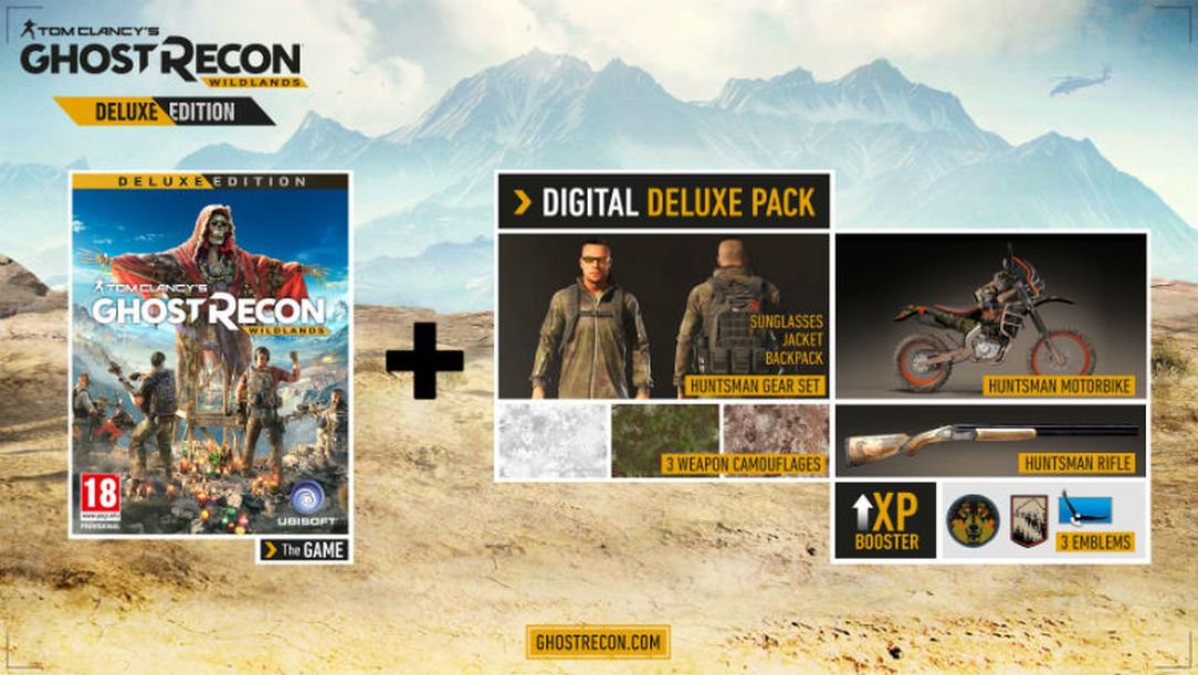 Ghost Recon Wildlands Deluxe(STEAM) PREORD BONUS RU-CIS