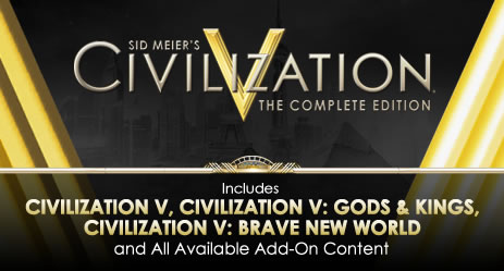 Civilization V: Complete Edition (Steam gift / ROW )