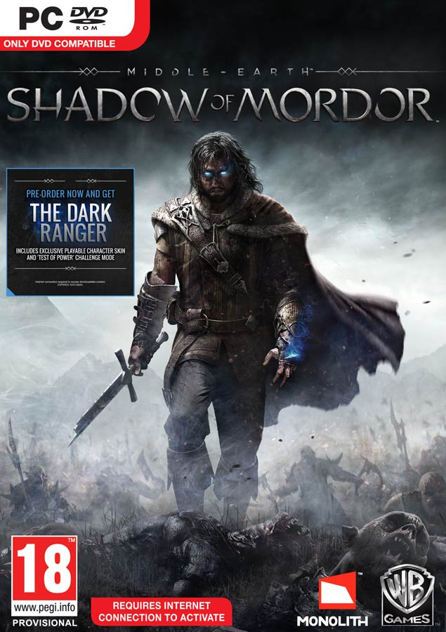 Middle-earth:Shadow of Mordor RegionFree/Multilang SCAN