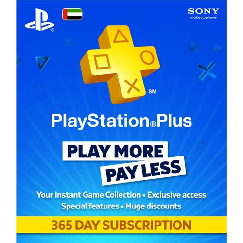 PLAYSTATION PLUS (PS+ PLUS) 365 ДНЕЙ (РУС \ ФОТО)