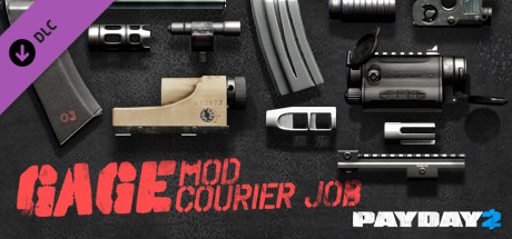 PAYDAY 2: Gage Mod Courier DLC (Steam Gift \ RU + CIS)