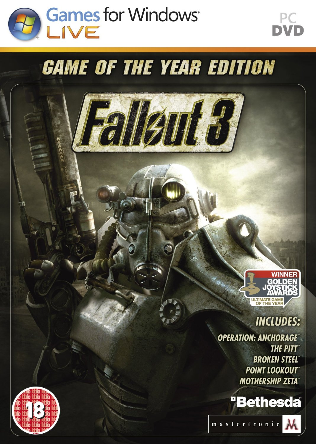 Fallout 3: Game of the Year (STEAM KEY \ REGION FREE)