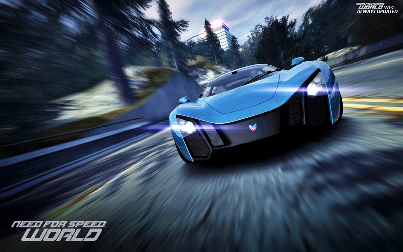 "Need For Speed World - Car / Машина - ""MARUSSIA B2"""