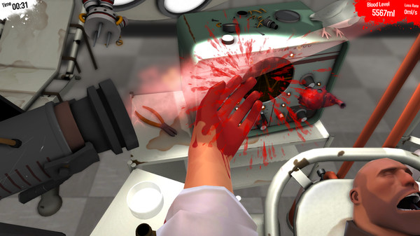 Surgeon Simulator 2013 — STEAM GIFT — REGION FREE — ROW