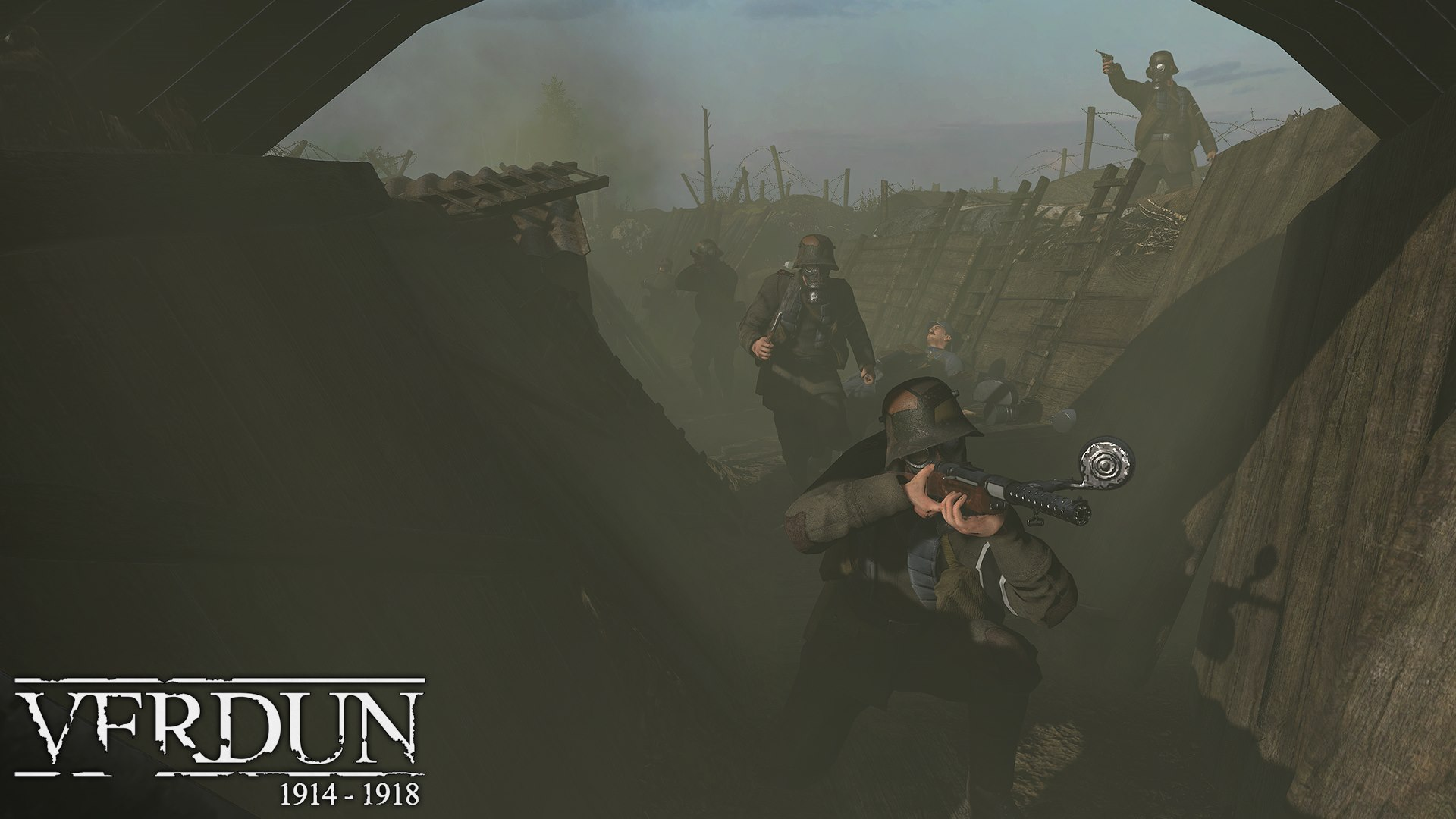 VERDUN — STEAM GIFT — REGION FREE — ROW