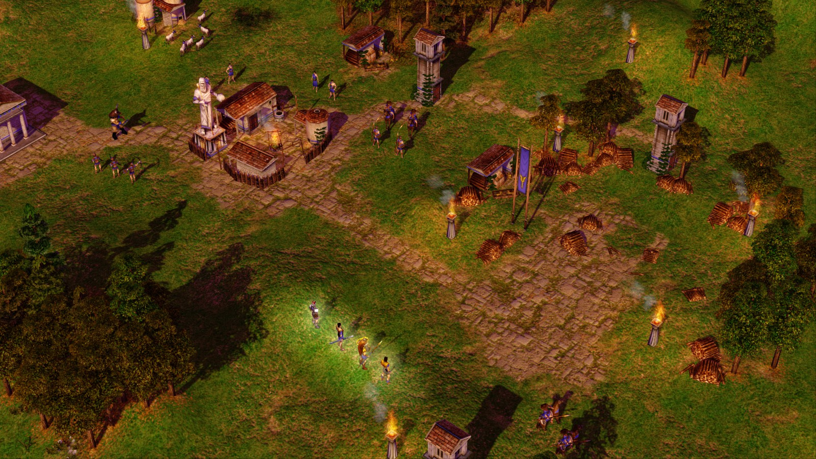 Age of Mythology EX plus Tale of the Dragon Gift RU+CIS