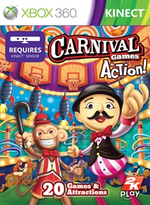 Carnival Games: In Action xbox360 SCAN
