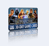 Star Wars Galaxies  таймкарта 30 дней или 1500 points