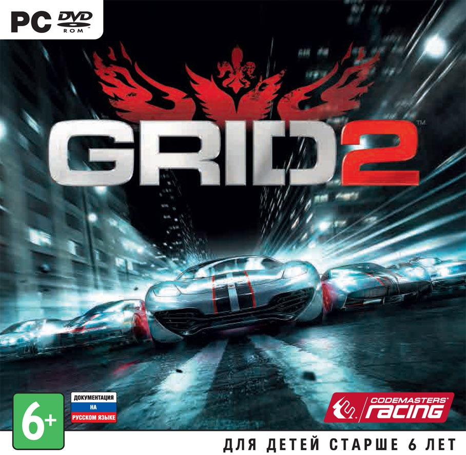 GRID 2 STEAM GIFT RU/CIS + бонус
