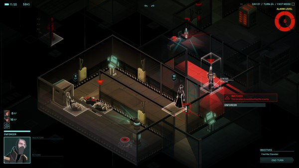 Invisible, Inc (Steam Gift\Region Free\RoW)