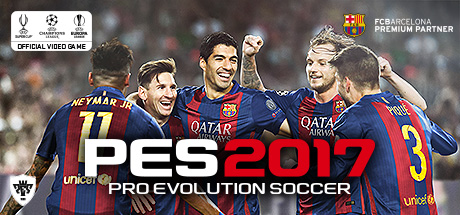 Pro Evolution Soccer 2017 GLOBAL STEAM KEY